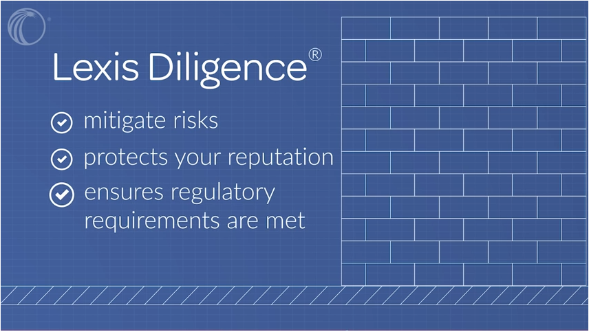 An introduction to Lexis Diligence, in 93 seconds